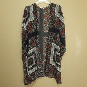 MAURICES SHEER COVERUP TUNIC 2/3